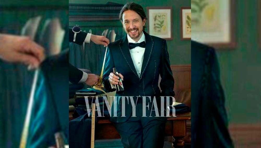 Pablo Iglesias posa para la revista Vanity Fair