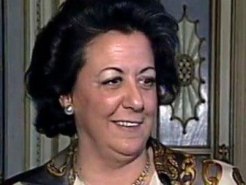 La exalcaldesa de Valencia Rita Barberá