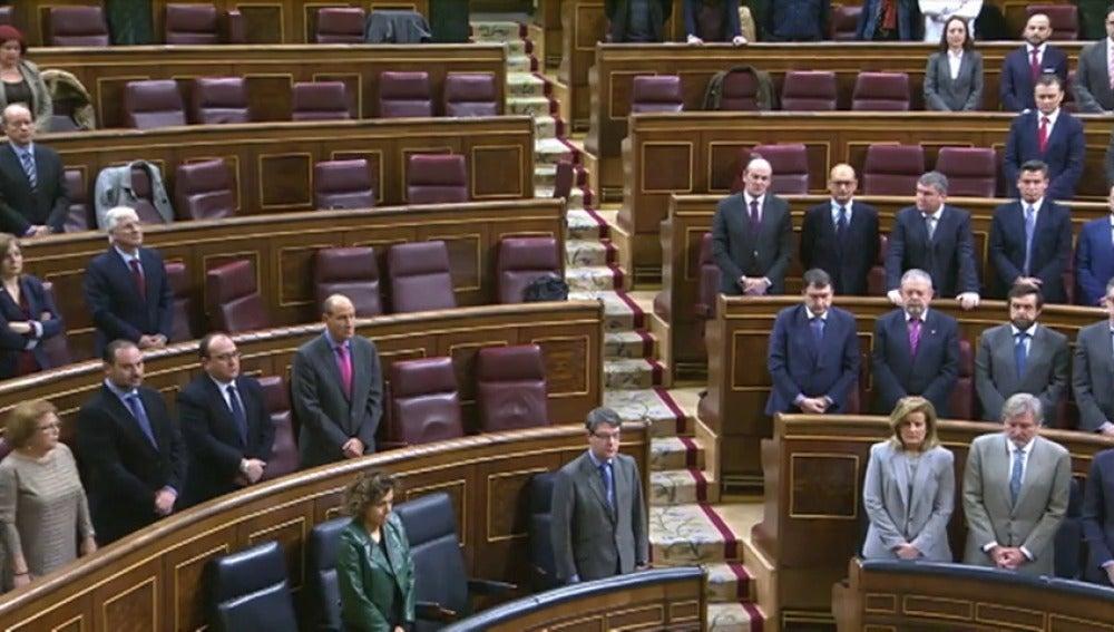 """Frame 48.72972 de: Unidos Podemos se niega a guardar un minuto de silencio por Barberá: """"No vamos a homenajear a una persona cuya trayectoria está marcada por la corrupción"""""""