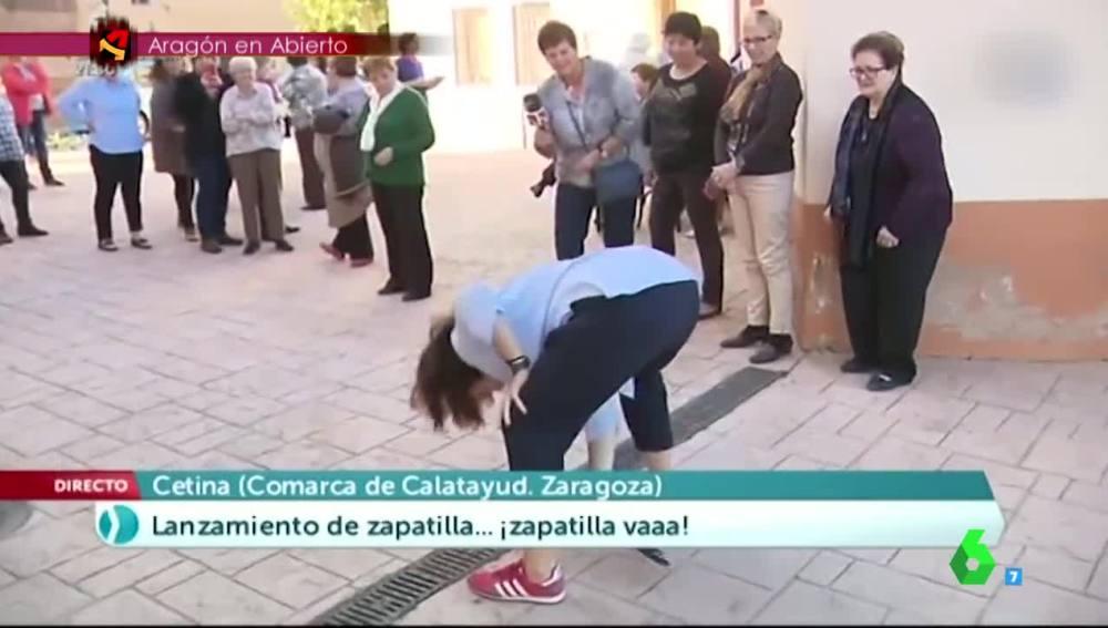 La reportera Vita Ventura