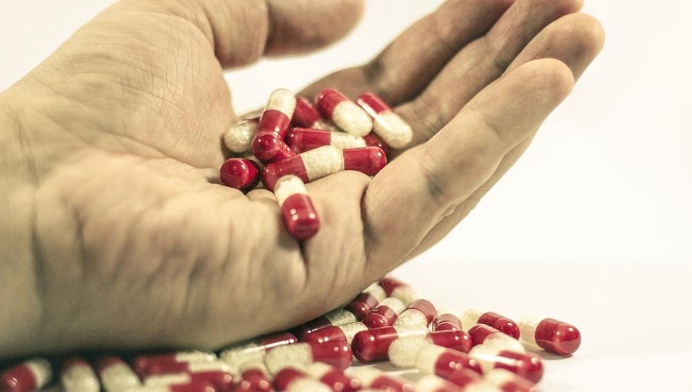 Imagen de archivo de pastillas.