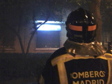 Un bombero de Madrid