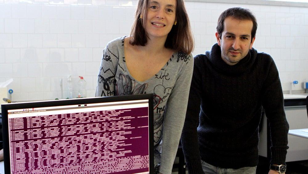 Marta Sales i Roger Guimerà