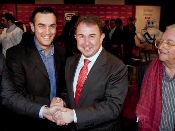 Martín Berasategui en la gala de las Estrellas Michelin