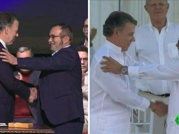 Frame 7.082118 de: El Gobierno colombiano y las FARC firman un nuevo y definitivo acuerdo de paz, más inclusivo y sin rencor