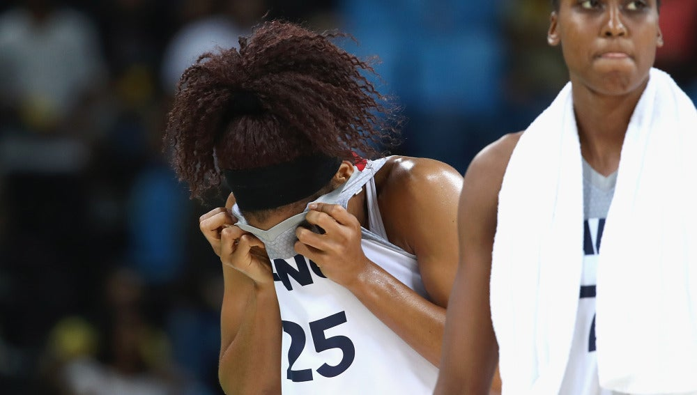Jugadoras de baloncesto femenino
