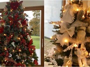 El antes y el después del árbol de Navidad de Koeman