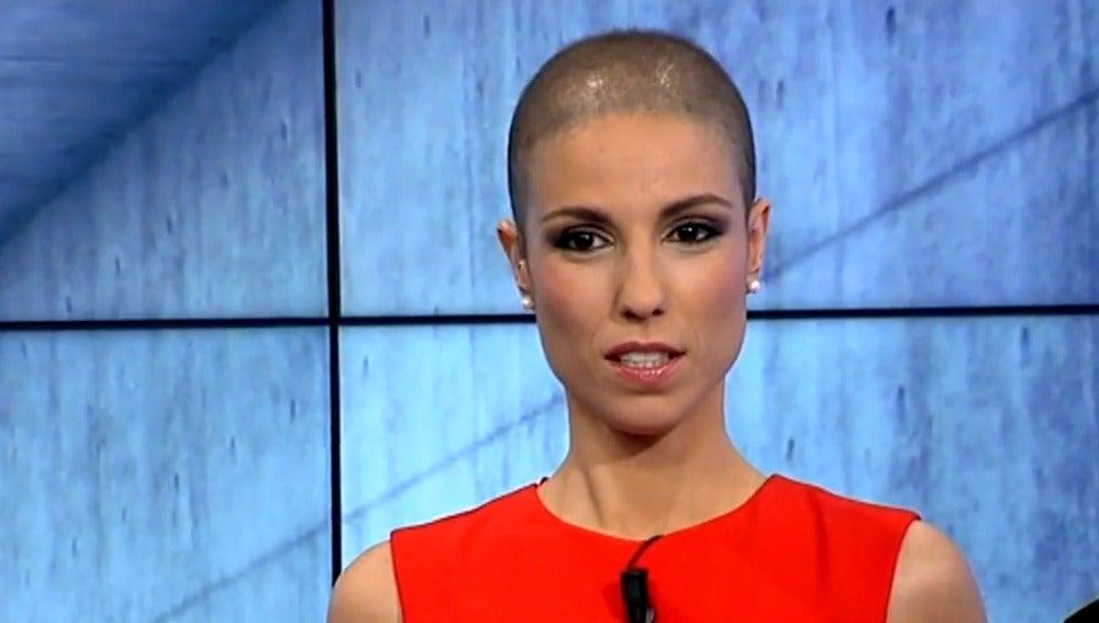 Marta García, presentadora del informativo de 7TV