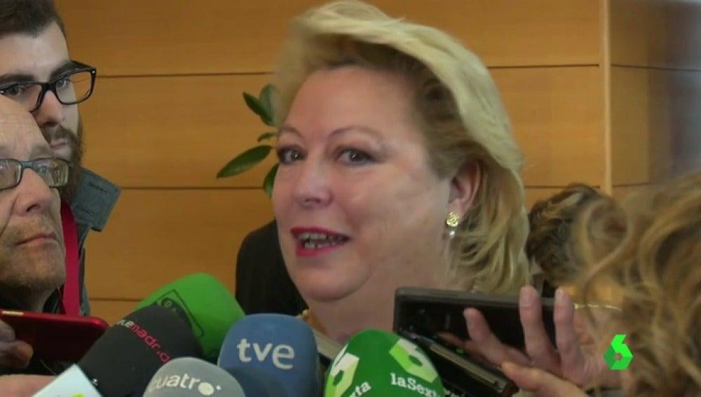 Frame 10.143533 de: María José Aguado, diputada del PP en la Asamblea de Madrid, niega su participación en la trama Gürtel