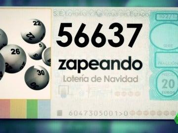 Frame 178.933844 de: Zapeando adivina el número de la Lotería de Navidad que puede hacerte rico