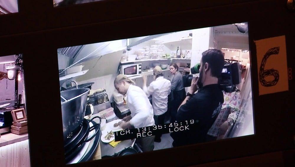 Making of Pesadilla en la cocina