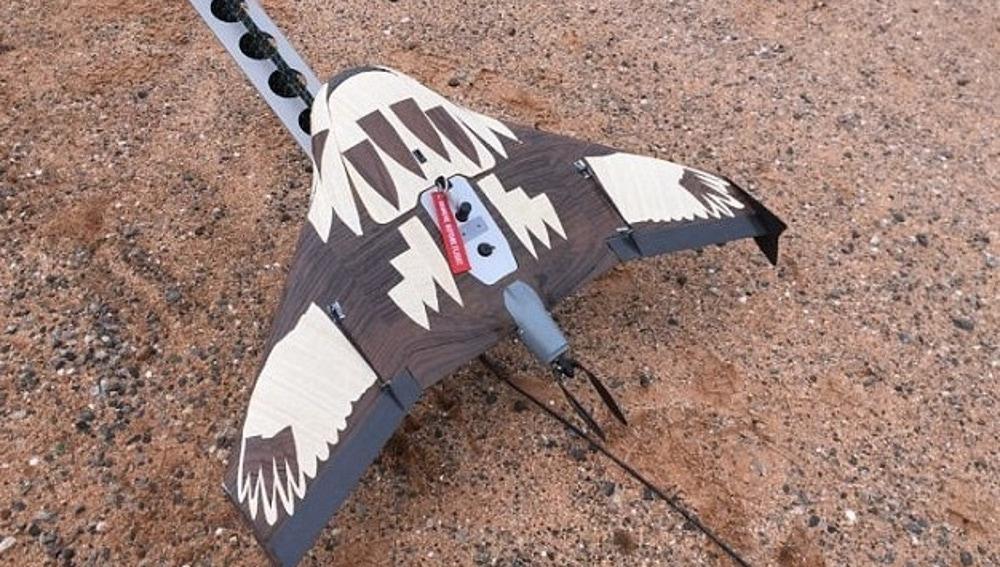 Un dron pájaro