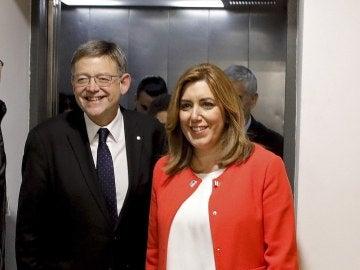 Ximo Puig y Susana Díaz