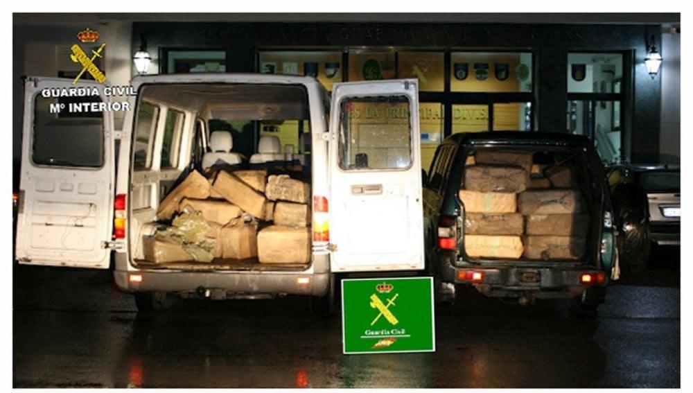 Incautan más de 3.000 kilos de hachís en Algeciras