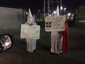 Ku Klux Klan apoya a Donald Trump
