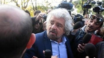 El líder del Movimiento Cinco Estrellas, Beppe Grillo
