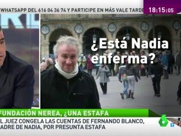 """Frame 41.708644 de: Manu Marlasca: """"No hay historial médico de la pequeña Nadia en el Clinic de Barcelona"""""""