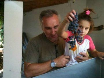 Nadia nerea y su padre