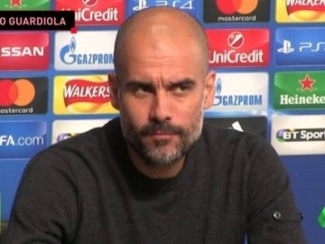 """Frame 52.5312 de: El enfado de Guardiola con un periodista en sala de prensa: """"El que escribió esa información es un mentiroso"""""""