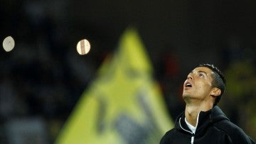 Cristiano Ronaldo, durante el partido contra el Dortmund