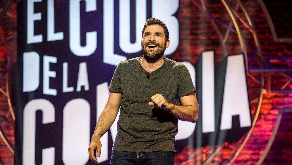 Nacho García en El Club