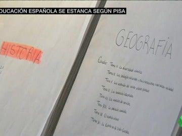 Frame 77.98722 de: Las notas del informe PISA por Comunidades Autónomas: despuntan Madrid, Castilla y León y Navarra