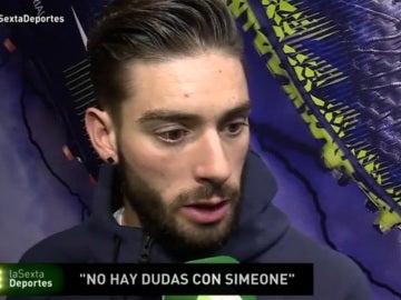 Carrasco habla sobre la situación del Atlético de Madrid