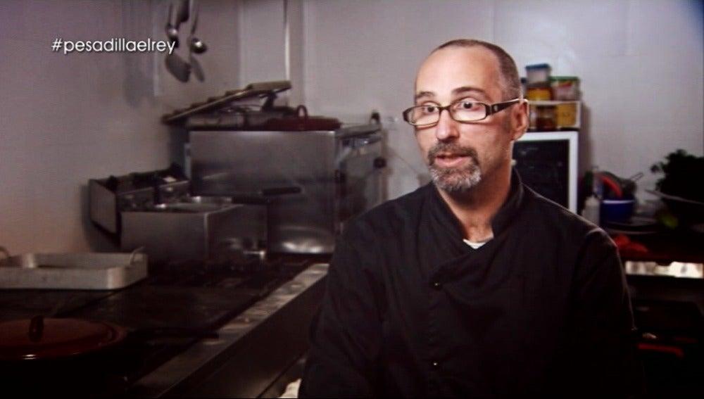Cocinero de 'El Rey' en Pesadilla en la cocina