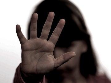 Recreación de una escena de abusos a menores.