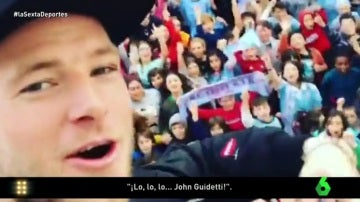 John Guidetti, jugador del Celta de Vigo