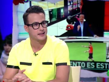 El colaborador de 'El Chiringuito' Juanfe Sanz visita Zapeando