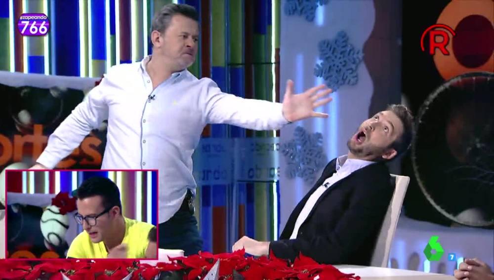 Miki Nadal, expulsado de plató por 'agredir' a Frank Blanco
