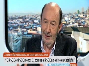 """Frame 0.0 de: Alfredo Pérez Rubalcaba: """"En mi primer debate sobre el estado de la nación hablé de Cataluña 20 minutos y no conseguí una línea en ningún periódico"""""""