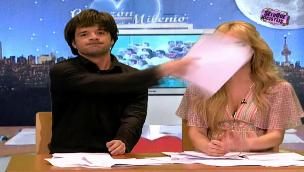 Ángel Martín se pasa de la raya con Patricia Conde