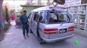 Frame 17.195327 de: Cinco mujeres mueren tiroteadas en Afganistán víctimas de la violencia machista