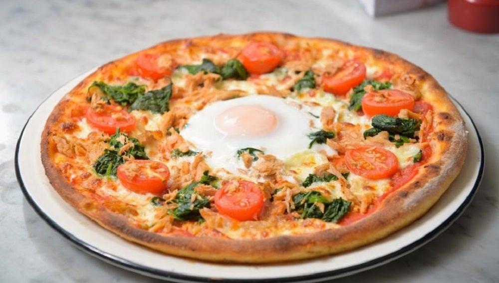 La pizza que acaba con la resaca