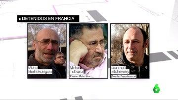 Frame 1.092324 de:  Una operación contra la logística de ETA se salda con cinco detenidos