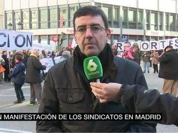 Mario Jiménez atiende a laSexta Noticias