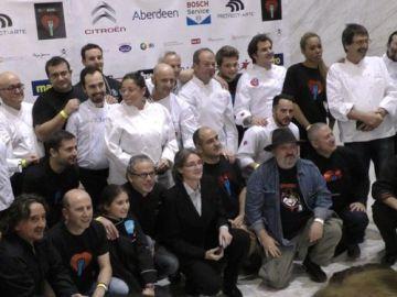 Chefs españoles cocinarán para 800 personas en situación de vulnerabilidad con la iniciativa 'Teinvitoacenar'
