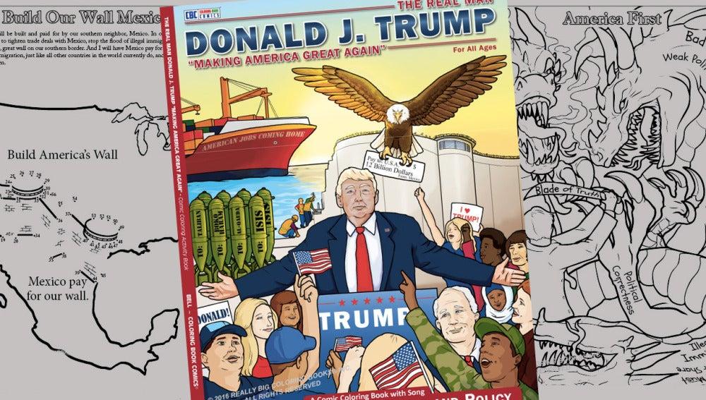 El volumen de Donald Trump ha vendido más de 100.000 ejemplares.