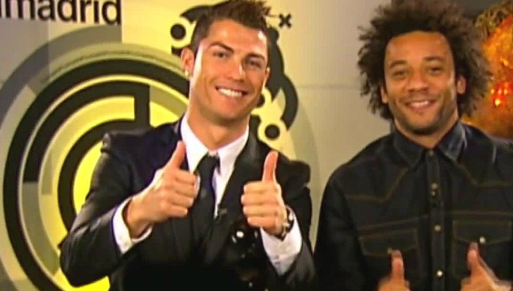 Felicitaciones De Navidad Risas.Las Risas De Cristiano Un Clasico En Las Felicitaciones De Navidad Del Real Madrid