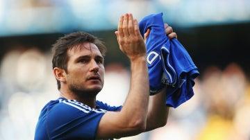 Frank Lampard, en el Chelsea