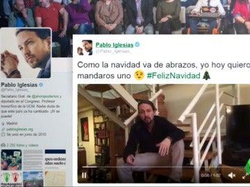 Frame 97.034088 de: El espíritu navideño no da tregua en las filas de Podemos: 'pablistas' y 'errejonistas' batallan en redes sociales