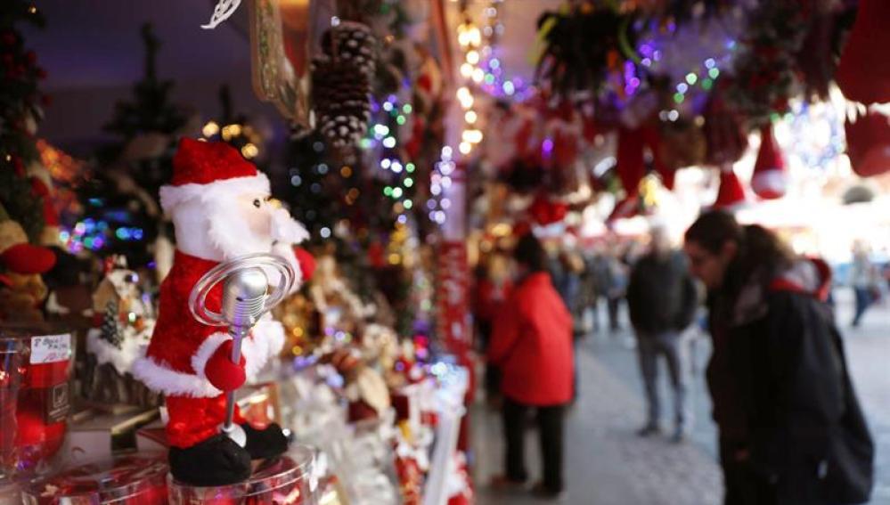 Compras de Navidad en Madrid