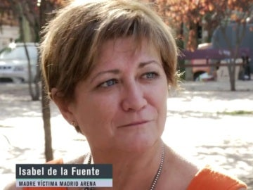 Madre víctima Madrid Arena