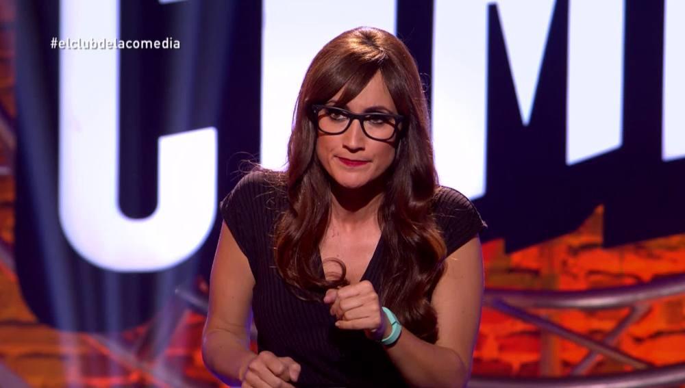 Ana Morgade y su pulsera inteligente