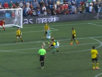 Golazo del Betis ante el Borussia Dortmund