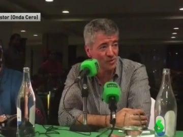 Gil Marín, en una entrevista en El Transistor