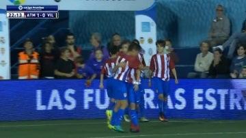 Alejandro Garncacho celebra su gol ante el Villarreal
