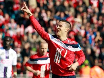 """Un compañero de Hazard en el Lille desvela que el belga """"bebió durante toda la noche, pero hizo un hat-trick en media hora"""" en su último partido"""